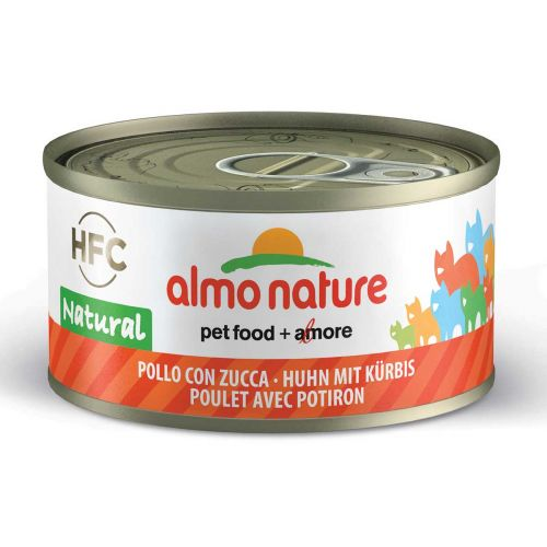BEST FRIEND ALMO NATURE CATS HFC NATURAL KANA JA KURPITSA 70 G