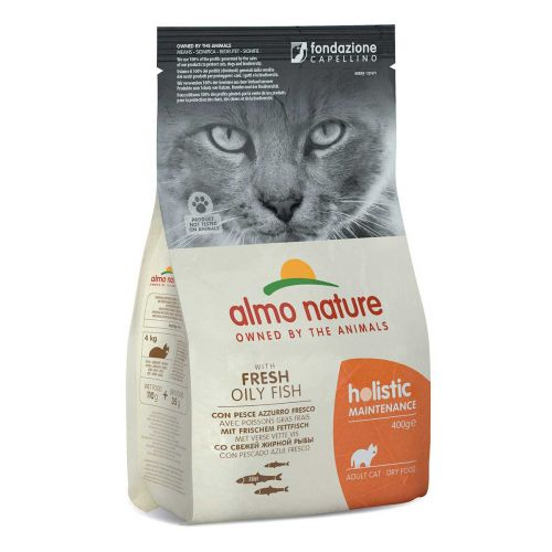 BEST FRIEND ALMO NATURE HOLISTIC CAT SIIKA-RIISI TÄYSRAVINTO 400 G
