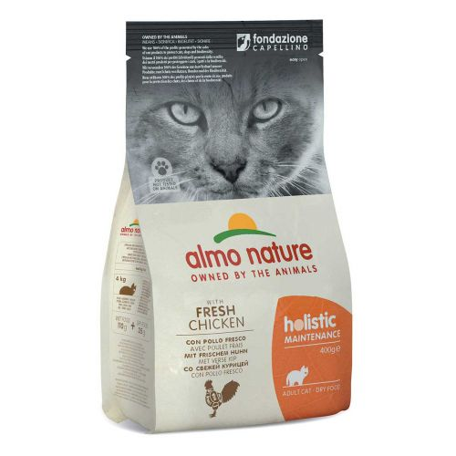 BEST FRIEND ALMO NATURE HOLISTIC CAT KANA-RIISI TÄYSRAVINTO 400 G