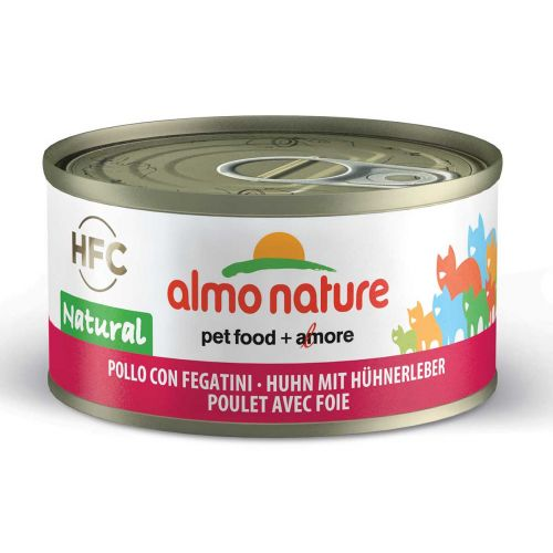 BEST FRIEND ALMO NATURE CATS HFC NATURAL KANA JA MAKSA 70 G