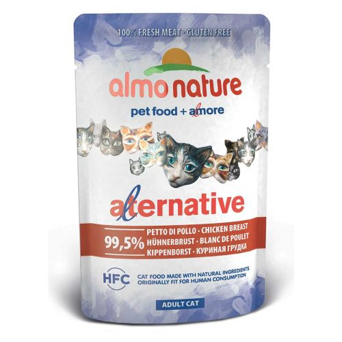 BEST FRIEND ALMO NATURE CATS ALTERNATIVE KANANRINTA 55 G