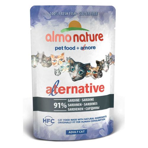 BEST FRIEND ALMO NATURE CATS ALTERNATIVE SARDIINI 55 G