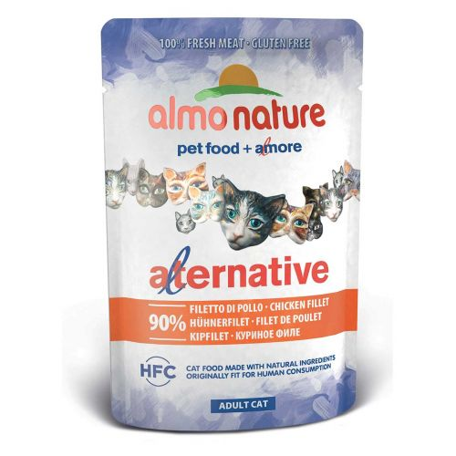 BEST FRIEND ALMO NATURE CATS ALTERNATIVIE KANAFILEE 55 G