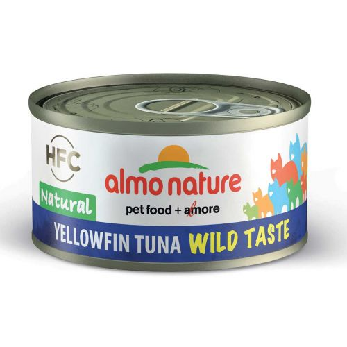 BEST FRIEND ALMO NATURE CATS HFC WILD TASTE NATURAL KELTAEVÄTON 70 G