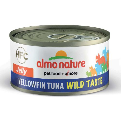 BEST FRIEND ALMO NATURE CATS HFC WILD TASTE JELLY KELTAEVÄTONNI 70 G