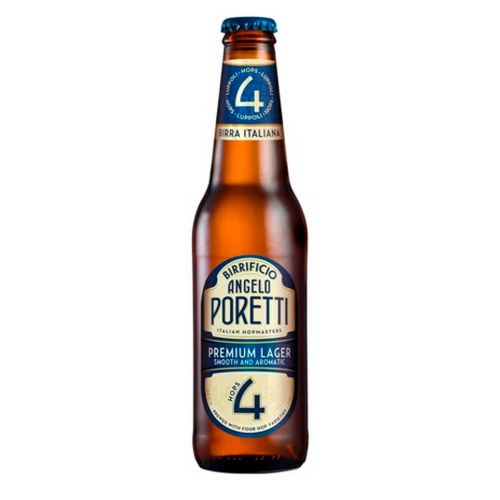 BIRRIFICIO ANGELO PORETTI 4 LAGER 5% KLP 330 ML