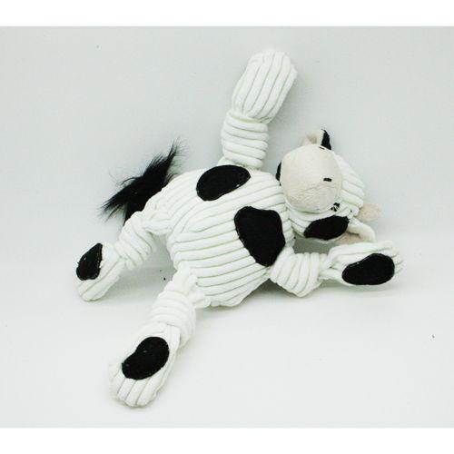 HUGGLEHOUNDS KOIRAN PEHMOLELU BARNYARD KNOTTIES COW S