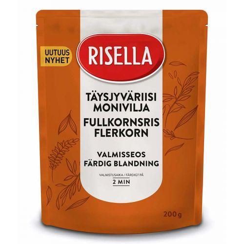 RISELLA VALMISSEOS TÄYSJYVÄRIISI-MONIVILJA 2MIN 200 G