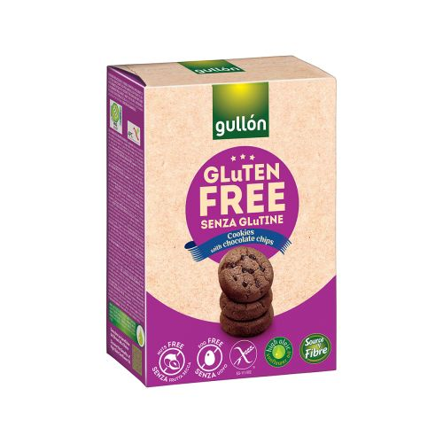 GULLON MINI CHOCO CHIPS GLUTEENITON 200 G
