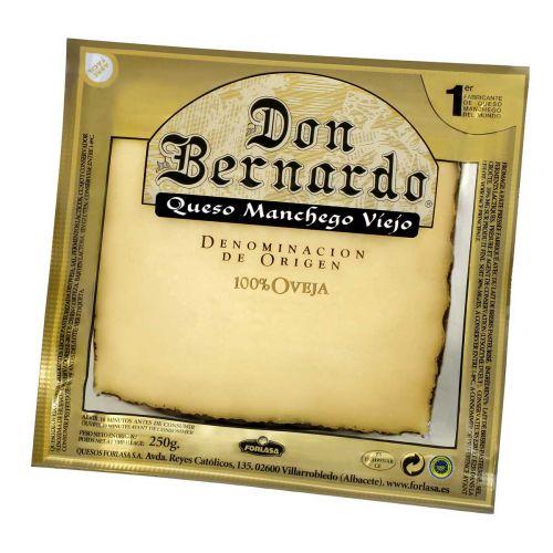 DON BERNADO MANCHEGO LAMPAANMAITOJUUSTO 250 G