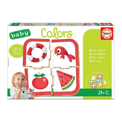 EDUCA BABY PUZZLE COLORS 4 PALAA PALAPELI