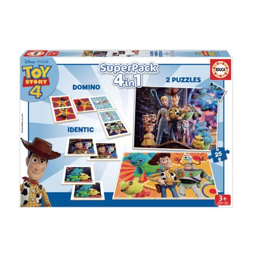 EDUCA TOY STORY 4 SUPERPACK 4 GAMES IN 1