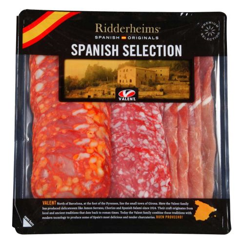 RIDDERHEIMS VALENT ESPANJALAINEN LEIKKELELAJITELMA 150 G