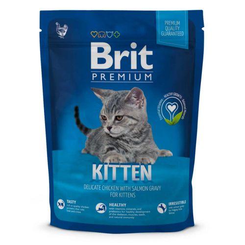 BRIT PREMIUM CAT KITTEN CHICKEN WITH SALMON 300 G