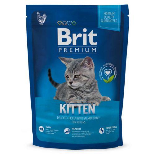 BRIT PREMIUM CAT KITTEN CHICKEN WITH SALMON 1,5 KG
