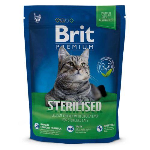 BRIT PREMIUM CAT STERILISED CHICKEN 300 G