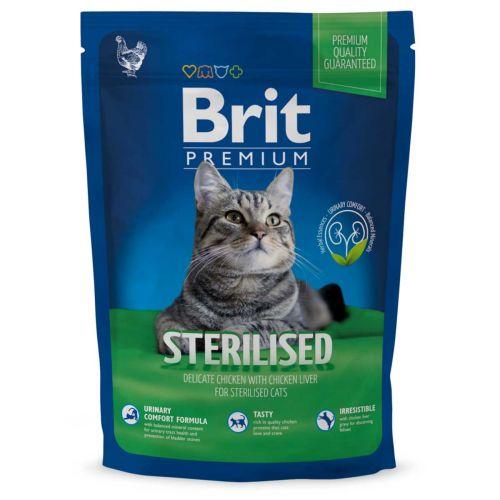 BRIT PREMIUM CAT STERILISED CHICKEN 1,5 KG