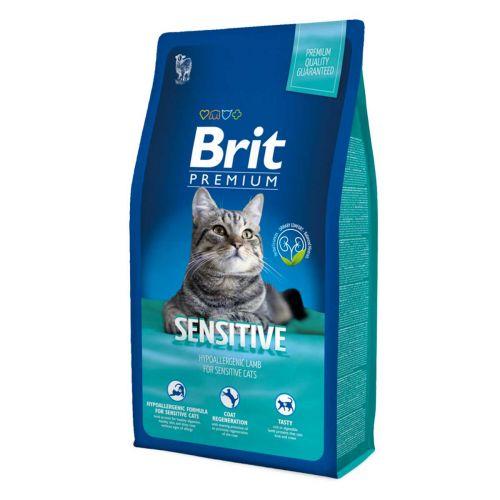 BRIT PREMIUM CAT SENSITIVE LAMB 8 KG