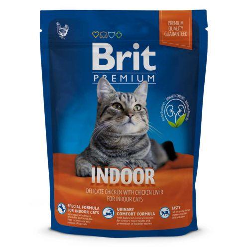 BRIT PREMIUM CAT INDOOR CHICKEN 300 G