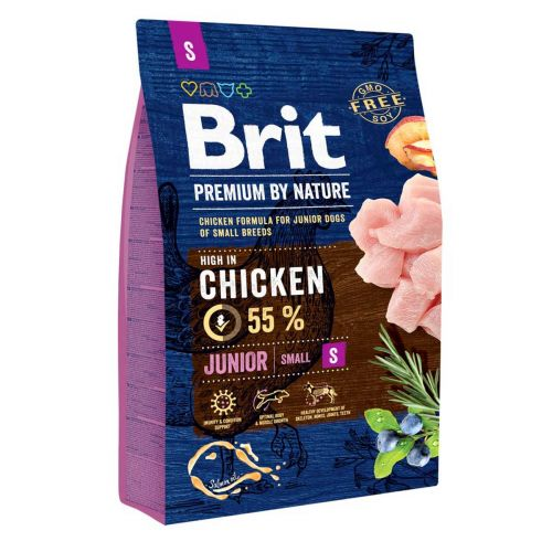 BRIT PREMIUM BY NATURE JUNIOR S CHICKEN 3 KG