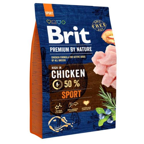 BRIT PREMIUM BY NATURE ADULT SPORT CHICKEN 3 KG