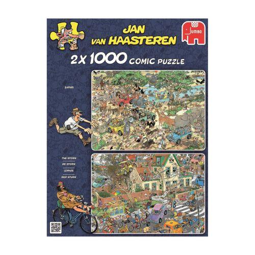 JAN VAN HAASTEREN SAFARI 2X1000 PALAA