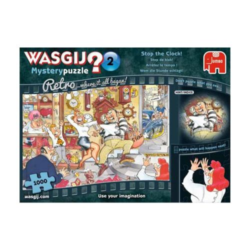 Wasgij Retro Mystery 2, Stop The Clock! 1000 palaa