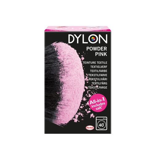 DYLON POWDER PINK TEKSTIILIVÄRI 350 G