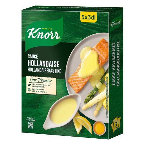 KNORR KASTIKEAINES HOLLANDAISEKASTIKE 3-PACK 66 G