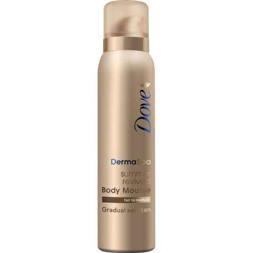DOVE TANNING MOUSSE FAIR TO MEDIUM 150 ML