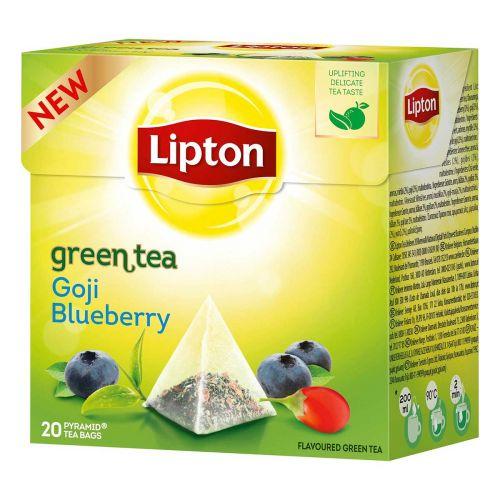 LIPTON GREEN TEA GOJI BLUEBERRY PYRAMIDI 20PS