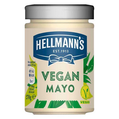 HELLMANN'S VEGAANINEN MAJONEESI 280 ML