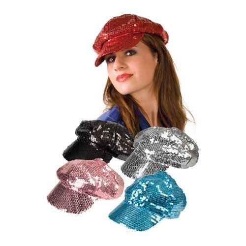 Paljettilippis lajitelmatuote 5 eri väriä