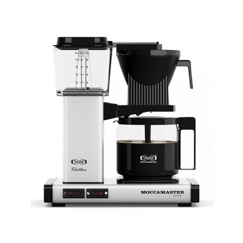 Moccamaster KBG962 kahvinkeitin valkoinen
