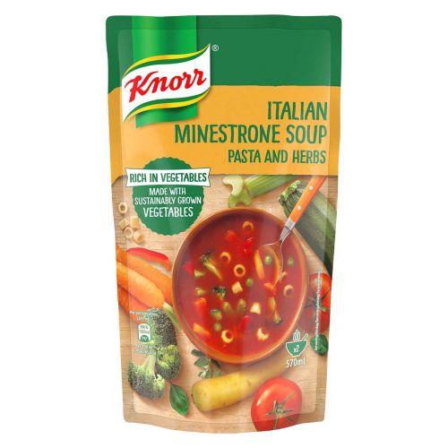 KNORR ITALIALAINEN MINESTRONE KEITTO 570 ML