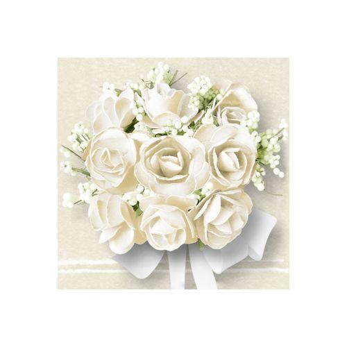 AMBIENTE LAUTASLIINA 33 WHITE ROSES