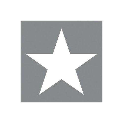 AMBIENTE LAUTASLIINA 25X25CM STAR GREY