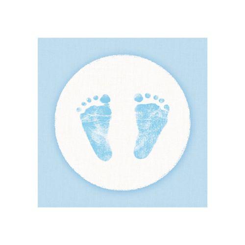 AMBIENTE LAUTASLIINA 25X25CM BABY STEPS BOY
