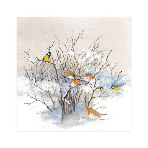 AMBIENTE LAUTASLIINA 33X33 BIRDS ON BRANCHES
