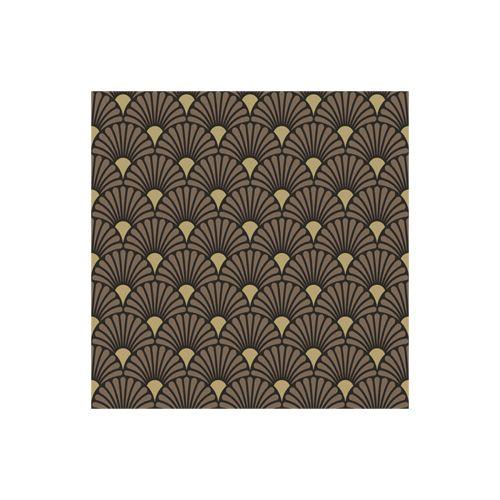 AMBIENTE LAUTASLIINA 25X25 ART DECO BLACK/GOLD