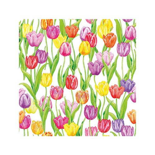 AMBIENTE LAUTASLIINA 33X33CM MAGIC TULIPS