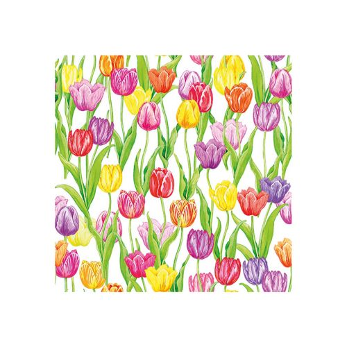 AMBIENTE LAUTASLIINA 25X25CM MAGIC TULIPS