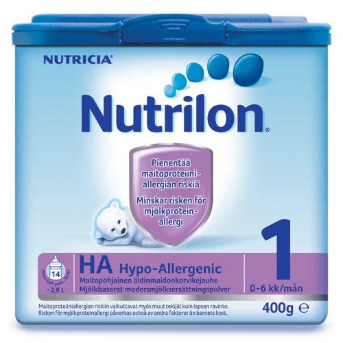 NUTRILON HYPO-ALLERGENIC 1 0-12KK 400 ML