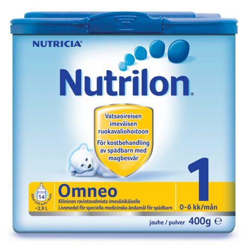 NUTRILON OMNEO 1 ÄIDINMAIDONKORVIKEJAUHE 0KK 400 G