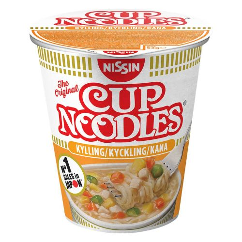 NISSIN CUP NOODLES PIKANUUDELIKEITTO KANA 63 G