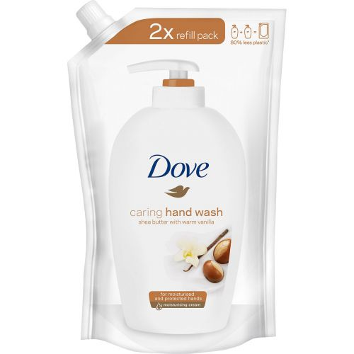 DOVE SHEABUTTER NESTESAIPPUA REFILL 500 ML