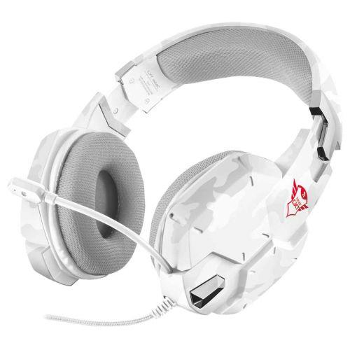 TRUST GXT322W HEADSET WHITE CAMO