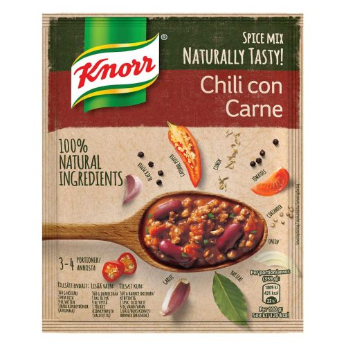 KNORR CHILI CON CARNE ATERIA-AINES 64 G