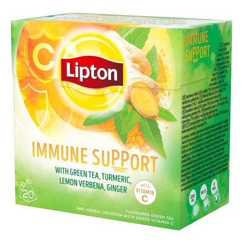 LIPTON PYRAMID IMMUNITY SUPPORT YRTTITEE 20PS 20 KPL