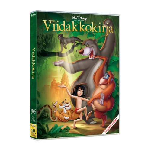 DISNEY VIIDAKKOKIRJA JUNGLE BOOK